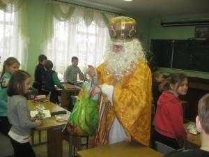 Миколай відвідав учнів 5-Б класу